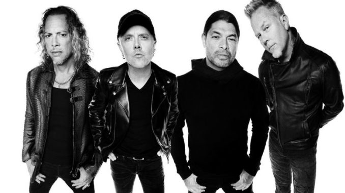 Metallica Groupe Metal Hard Rock